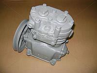 ⭐⭐⭐⭐⭐ Компрессор 2-цилиндровый МАЗ, К-701, Т 150, КРАЗ (со шкивом) (производство  БЗА)  5336-3509012