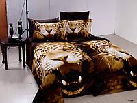 """Постельное белье """"Arya"""" сатин семейный комплект Tiger"""