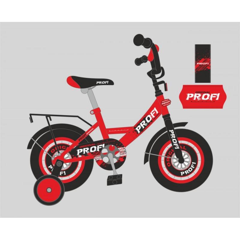Детский двухколесный велосипед PROFI 16 дюймов (красный), Original boy Y1646