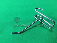 Крючок на сетку хром (10см)