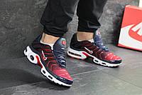 176735d2 Кроссовки найк аир макс тн темно-синие красные беговые (реплика) Nike Air  Max
