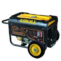Генератор бензиновый 5.0/5.5кВт 4-х тактный электрозапуск Pro-S Sigma (5710621)