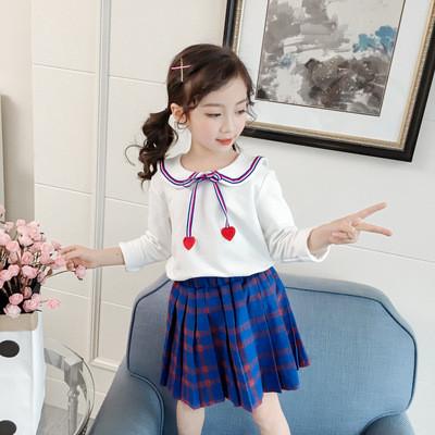 31ec7121f1f Детский костюм в клетку рубашка + юбка - Интернет-магазин