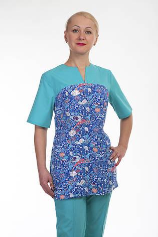 Хирургический женский костюм  2298 ( батист 42-60 р-р ), фото 2