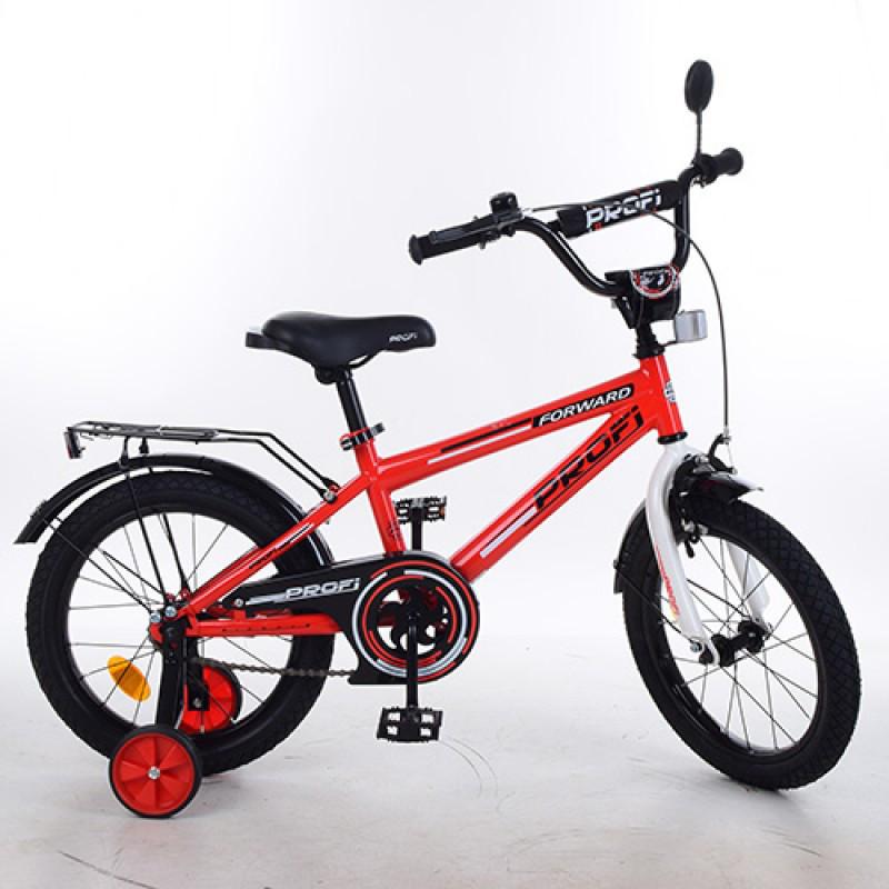 Детский двухколесный велосипед PROFI 16 дюймов (красный), Forward, T1675