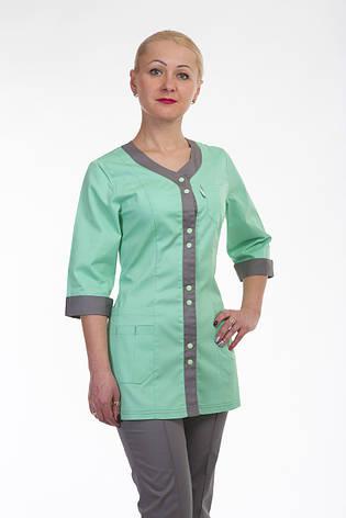 Женский медицинский костюм женский 2292 ( батист 42-60 р-р ), фото 2