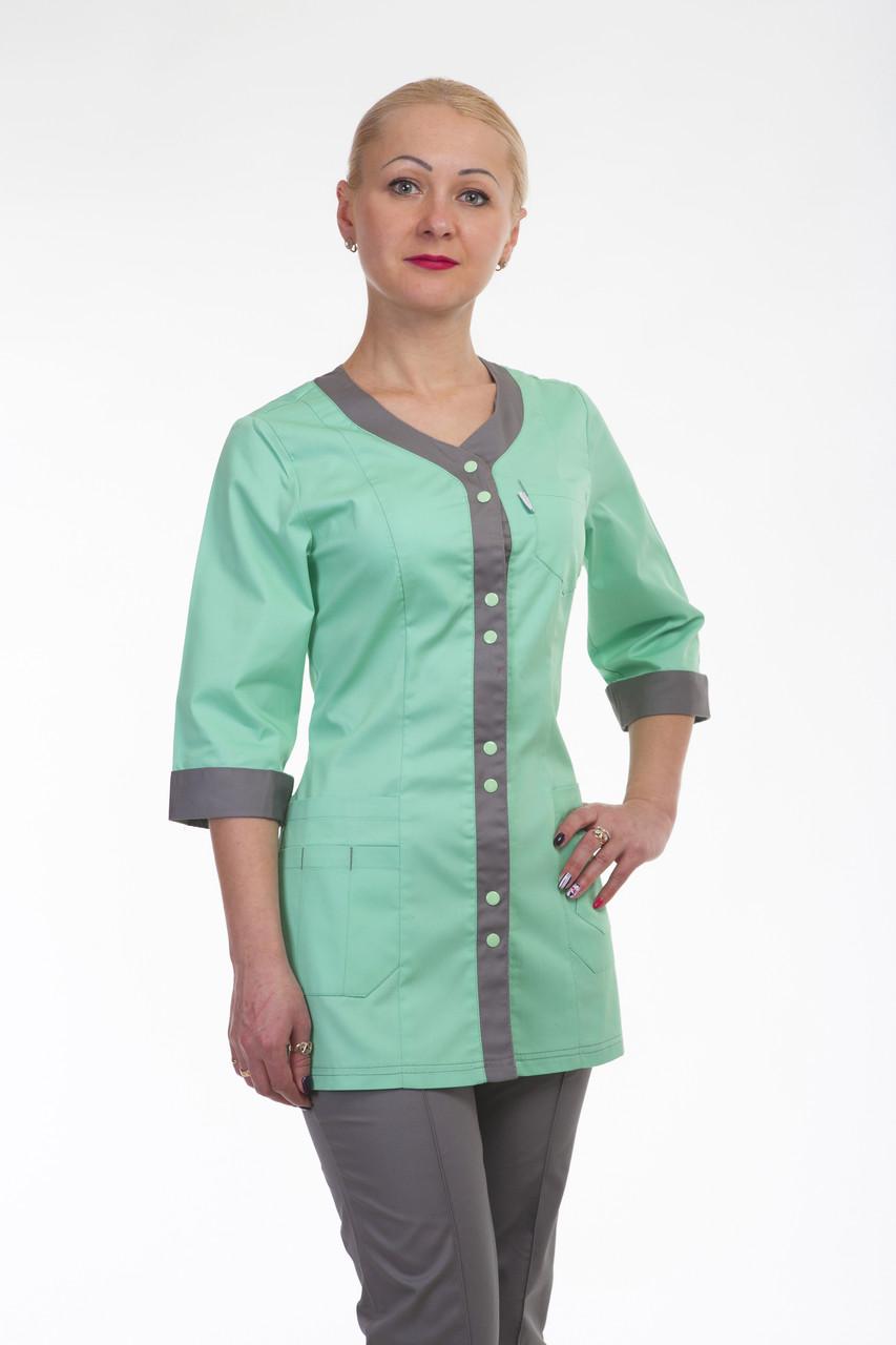 Женский медицинский костюм женский 2292 ( батист 42-60 р-р )