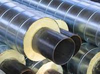 Трубы теплоизолированные   для тепловых сетей и  сетей горячего водоснабжения  в оцинкованной оболочке