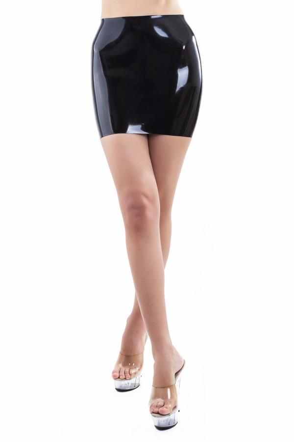 Латексная мини-юбка Latex Skirt