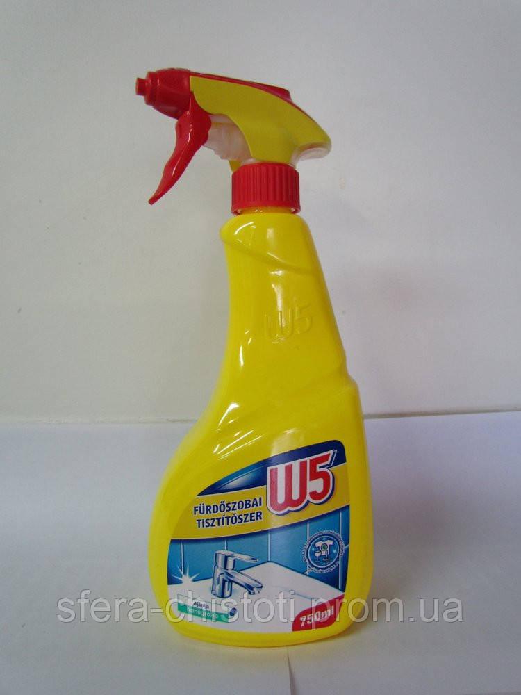 Средство для чистки ванной W5 750 мл