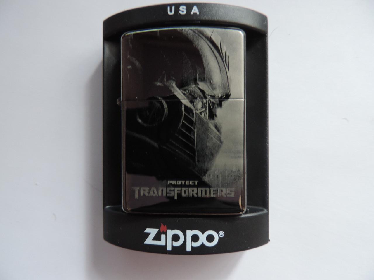 "Зажигалка Zippo ""Трансформер"" копия"