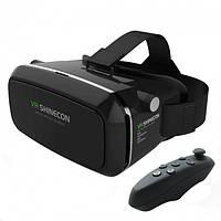 Очки виртуальной реальности VR SHINECON + пульт (100199)