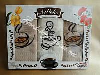 Набор кухонных полотенец с чашечками Nilteks 3шт: 50х70 Турция