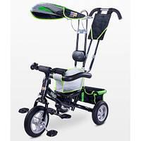 Детский трехколесный велосипед Caretero Derby Зеленый