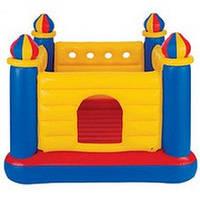 Надувной игровой центр-батут Замок Castle Bouncer Intex 48259