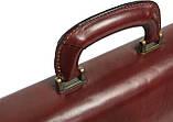Портфель из натуральной кожи Rovicky AWR-6-2 темно-коричневый, фото 7