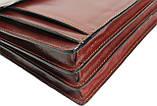Портфель из натуральной кожи Rovicky AWR-6-2 темно-коричневый, фото 8