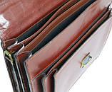 Портфель из натуральной кожи Rovicky AWR-6-2 темно-коричневый, фото 10