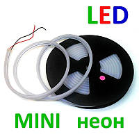 Светодиодный MINI неон гибкий 12В 2835(120LED/м) IP68