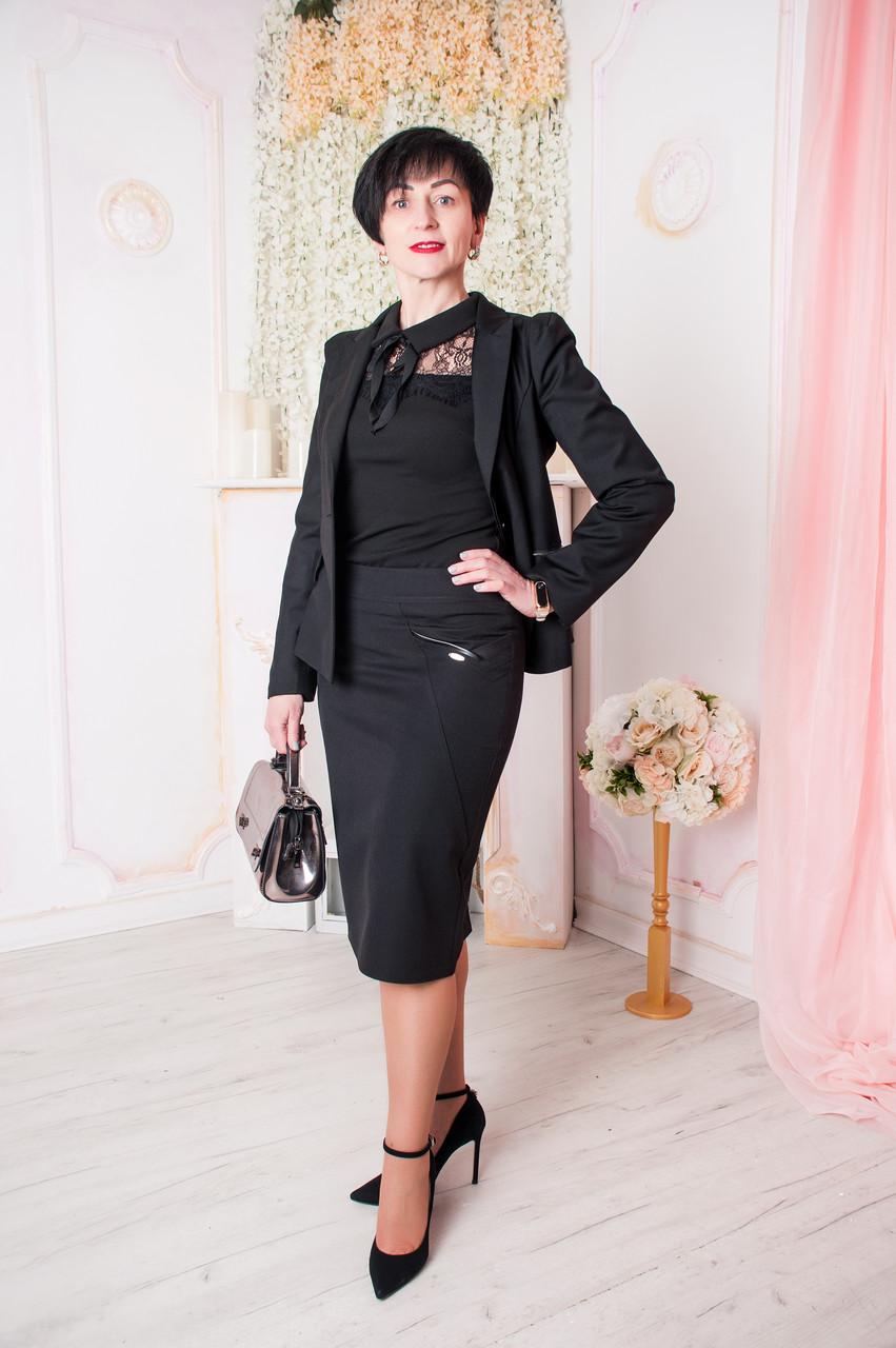 Женская юбка Лейла черная