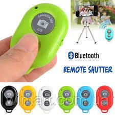 Bluetooth Remote Shutter selfie Салатовый Розничная коробка