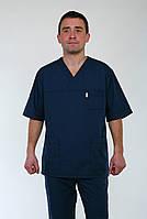 Медицинский костюм мужской 22106 ( батист 42-60 р-ры ), фото 1