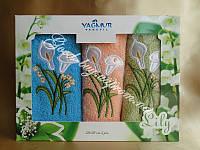 Комплект полотенец Yagmur Tekstil махра / хлопок 3шт.: 30х50 Турция