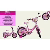 """Велосипед """"Барби"""" розовый   16"""""""