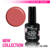 УФ гель-лак для ногтей NEW COLLECTION Lady Victory 15 мл. LDV GL-008/23-2
