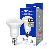 Светодиодная лампа GLOBAL R50 5W 3000K 220V E14 (1-GBL-153)