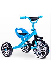 Детский трехколесный велосипед Caretero York Синий