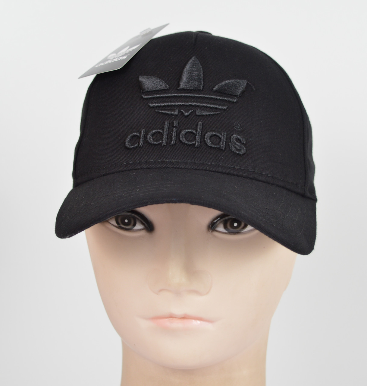 "Бейсболка ""Котон 5кл"" I-01 Adidas черный"