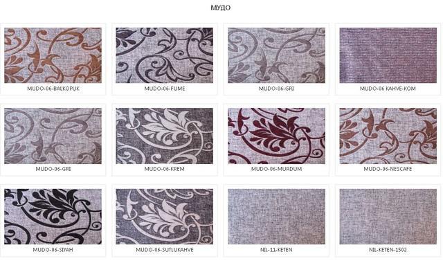 Комплект стол и стулья Маджента Ткань Мудо