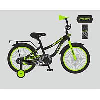 Детский двухколесный велосипед для мальчика PROFI 14 дюймов графитовый, T14152 Space