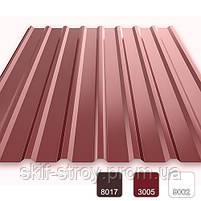 Профнастил стеновой ПС20 0,45мм Словакия US Steel Kocise, фото 2