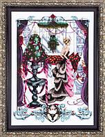 Схема Christmas in London Mirabilia Designs