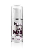 Тональный матирующий крем CITY MATT Lirene тоффи 30 мл