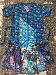 Летние женские халаты больших размеров, фото 3