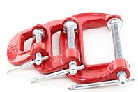 Набор струбцин столярных 3шт HT-6013 InterTool