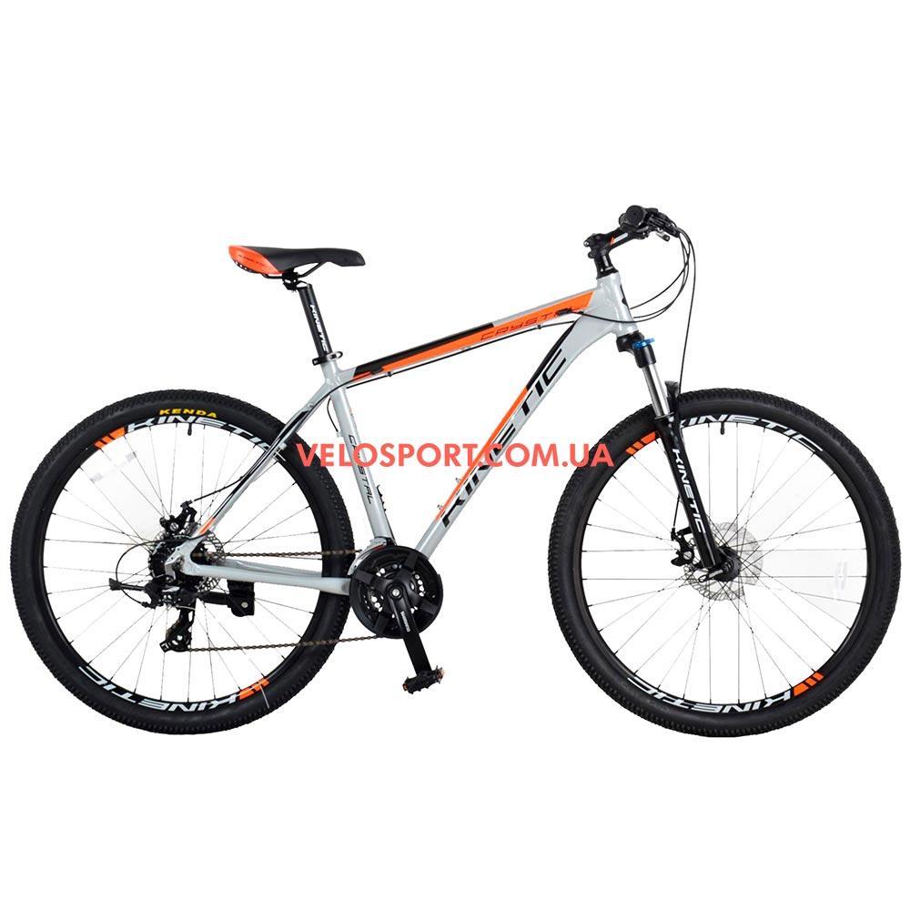 """Горный велосипед Kinetic Crystal 27.5 дюймов 19"""" серый"""