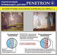 Подготовка бетонной поверхности перед применением материалов системы Пенетрон