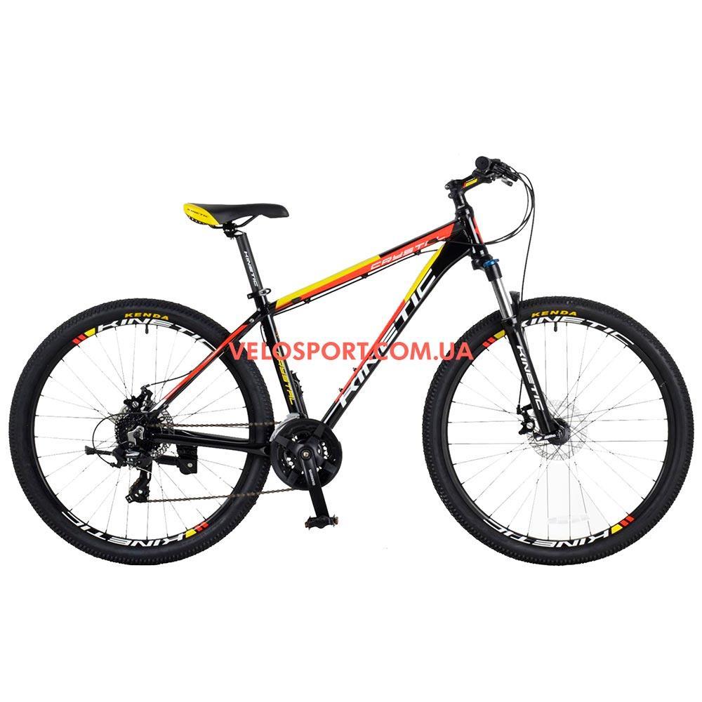 """Горный велосипед Kinetic Crystal 27.5 дюймов 17"""" черный"""