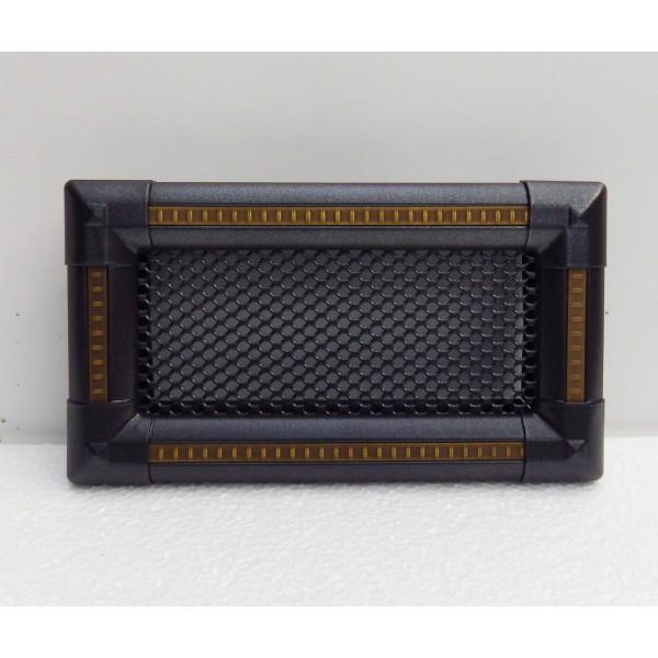 Вентиляционная каминная решетка Exclusive, графит/медная патина