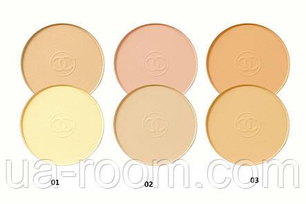 Компактная двойная пудра для лица Chanel Coco pressed powder  CH 1489, фото 2