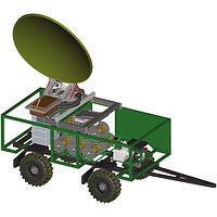 Мобильная цифровая станция тропосферной связи