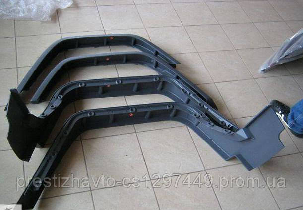 Расширители арок на Mercedes G-Сlass W-463