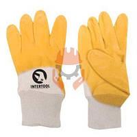 Перчатки рабочие (строительные) Intertool SP-0110