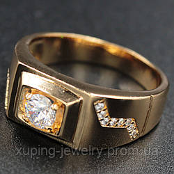 Кольцо мужское Xuping 18k R032