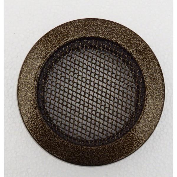 Каминная решетка Parkanex круглая, старое золото