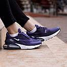 Стильные женские кроссовки Nike Air Max 270 - 5 цветов, фото 4